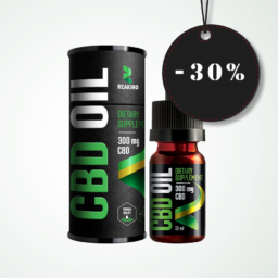 Reakiro CBD olaj 300 mg 10 ml 3%