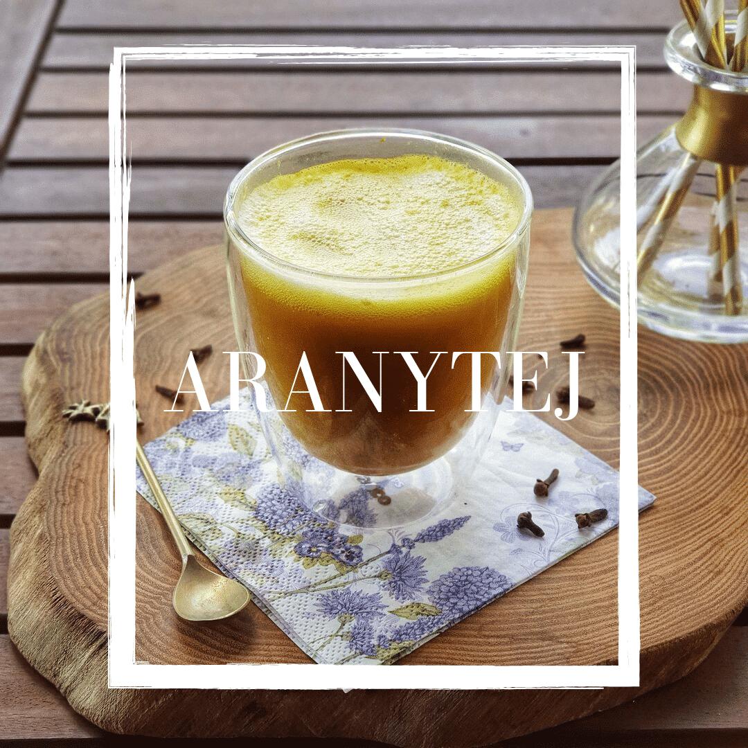 Aranytej recept