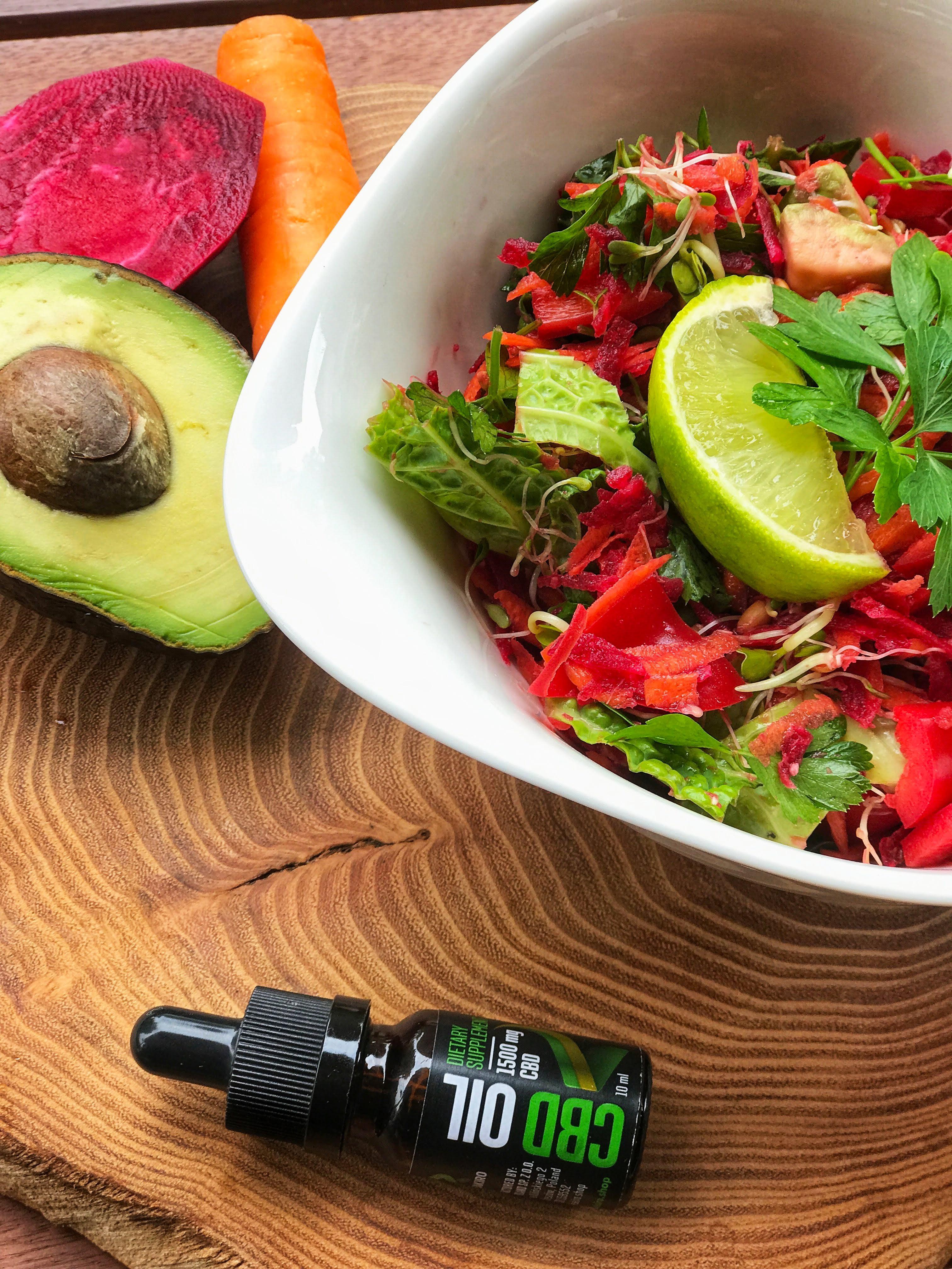 CBD superfood saláta