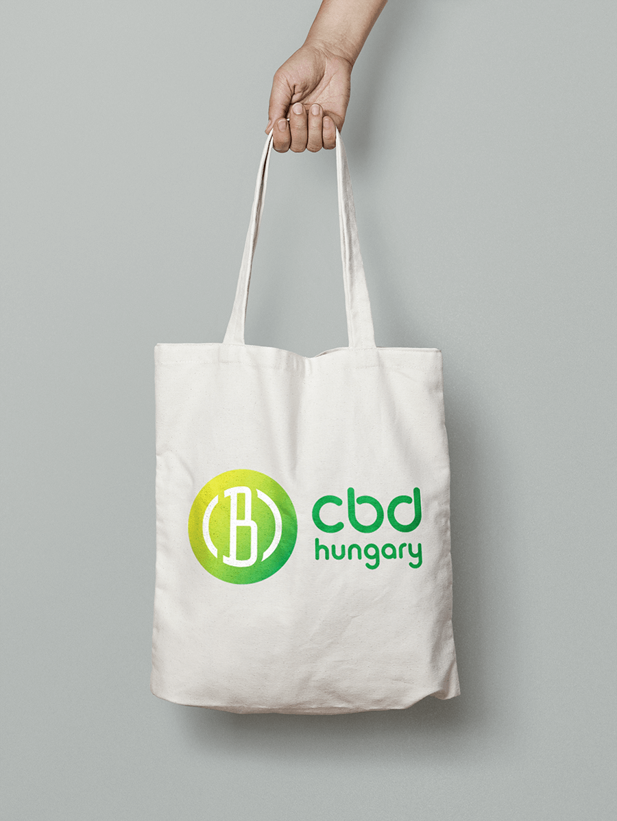 100% pamut vászon bevásárlótáska CBD Hungary