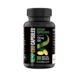 Reakiro CBD kapszula 750 mg (30 db)