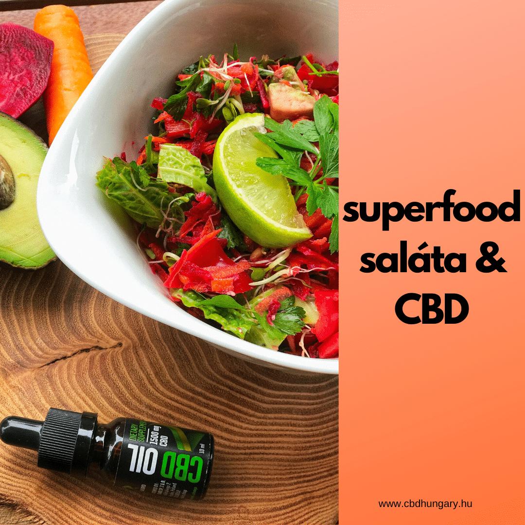 Superfood ételek lista + immunerősítő saláta