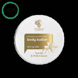 Vanilla Milk Testvaj feszes bőrért 450 mg CBD – Teszter