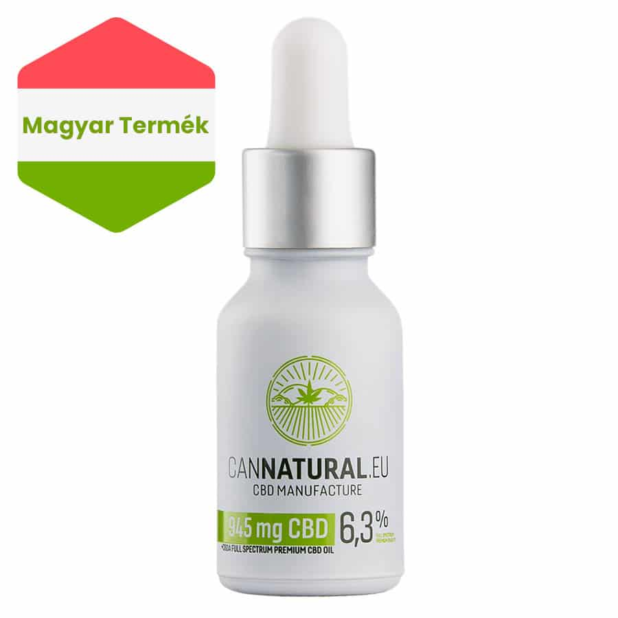Cannatural CBD olaj 945 mg 15 ml 6,3%