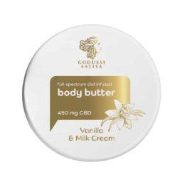 Vanilla Milk Testvaj feszes bőrért 450 mg CBD