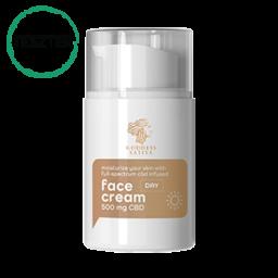 Hidratáló Nappali Arckrém 500 mg CBD – Teszter